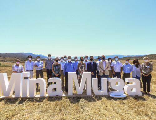 Inaugurada Mina Muga, la nueva mina de potasa situada en Navarra y Aragón